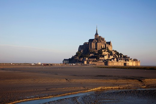 Stock Photo: 1597-106678 Europe, France, Normandy, Normandie, Mont St.Michel, Mont St Michel, Mont Saint Michel, UNESCO, UNESCO World Heritage Site, UNESCO World Heritage Sites, Tourism, Travel, Holiday, Vacation