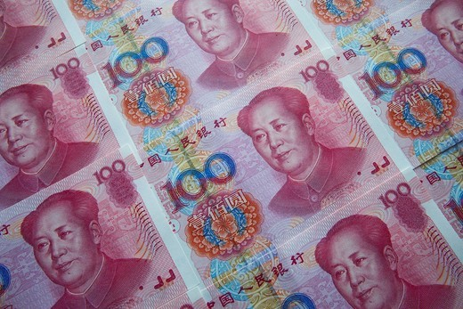 Stock Photo: 1597-106965 Asia, China, Chinese RMB, Chinese Renminbi, Chinese Money, Yuan, Currency, Currencies, Currency Exchange, Foreign Exchange, Finance, Money, Bank Notes, Tourism, Travel, Holiday, Vacation