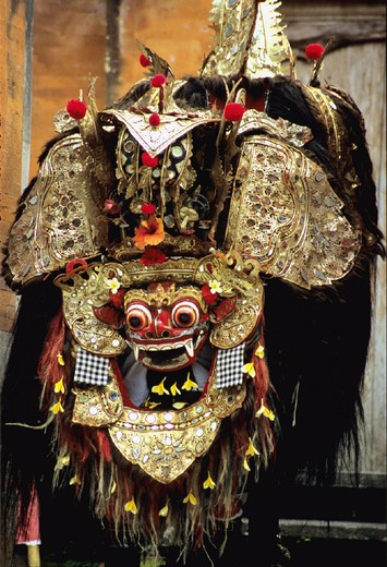 Stock Photo: 1597-109737 Asia, Bali, Asia, Barong dance, Indonesia, dragon, mask