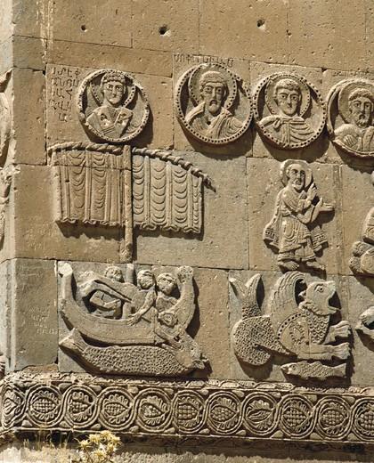 Noah´s ark, culture, wall, reliefs, relief, Turkey, : Stock Photo