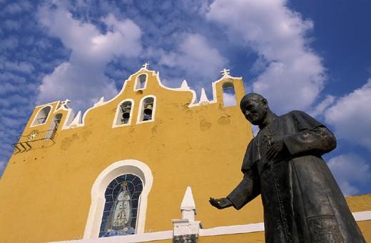 Stock Photo: 1597-112756 Convento de San Antonio de Padua, Izamal, Mexico, Central America, America, Yucatan,