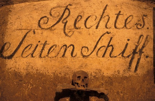 Stock Photo: 1597-114607 Austria, Europe, Michaeler, church, Vienna, catacombs, mummy, bones, historic, old, crypt, St. Michael, church, cataco