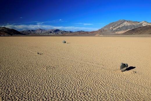 Stock Photo: 1597-115248 Racetrack Playa, Death Valley, National Park, Cali
