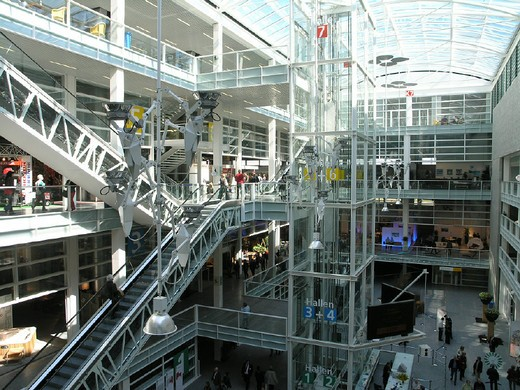 Stock Photo: 1597-119816 atrium, business, Canton Zurich, craft, inside, purchase, shopping, Shopping center, Glatt, stores, Switzerland, Eur