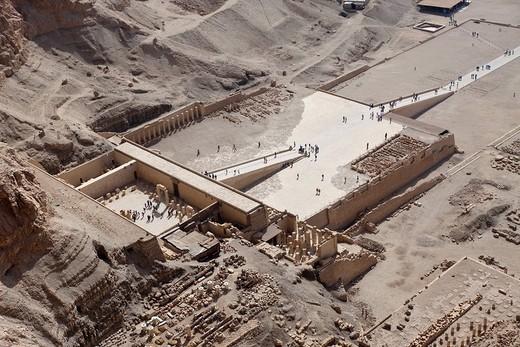 Stock Photo: 1597-120037 Queen Hatshepsut Temple, Luxor, Egypt