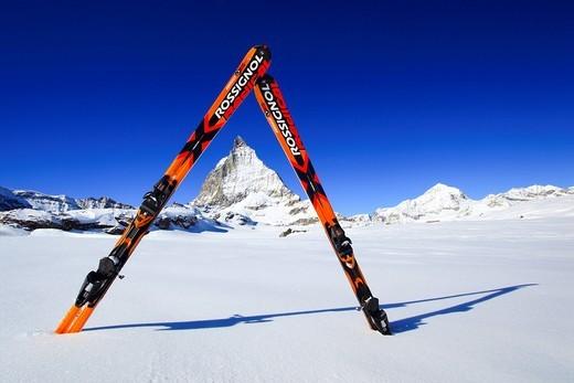 Stock Photo: 1597-120442 Matterhorn _ 4478 m, Zermatt, Wallis, Schweiz