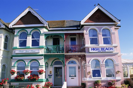 Stock Photo: 1597-129956 Accomodation, B, B, Bed and Breakfast, Britain, British Isles, England, Great Britain, Europe, Holiday, Hotel, House