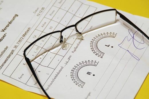 Stock Photo: 1597-130694 glasses, eyeglass, eyeglasses, frame, lens, lenses, glasses bearers, spectacle wearer, visual help, visual strength, v