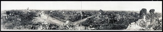 Stock Photo: 1597-131696 Lens, France, Europe, World War I, WW1, devastated, coal mining region, historical, historic, history, destruction, 19