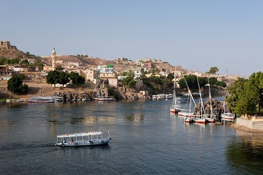 Impressions of Aswan, Aswan, Egypt : Stock Photo