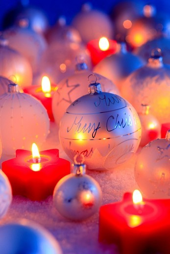 Stock Photo: 1597-138397 Christmas, ball, tree, decorations, decoration, adornment, glitter, candles, ball, sphere, pattern, close_up, jewellery, snow, star, star tea lights, mood, tea lights, Christmas decoration, Christmas, Christmas ball, Christmas decoration, Christmas mood,. Christmas, ball, tree, decorations, decoration, adornment, glitter, candles, ball, sphere, pattern, close_up, jewellery, snow, star, star tea lights, mood, tea lights, Christmas decoration, Christmas, Christmas ball, Christmas decoration, Chris