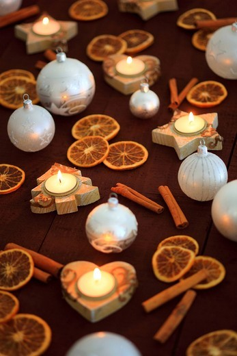 Stock Photo: 1597-138415 Christmas, ball, tree, decorations, decoration, adornment, spices, glitter, heart, heart, tea cozy, candle, wood, candles, ball, sphere, Merry Christmas, pattern, close_up, oranges, jewellery, star, to stars, star tea lights, mood, fir_tree tea warmer can. Christmas, ball, tree, decorations, decoration, adornment, spices, glitter, heart, heart, tea cozy, candle, wood, candles, ball, sphere, Merry Christmas, pattern, close_up, oranges, jewellery, star, to stars, star tea lights, mood, fir_tree te