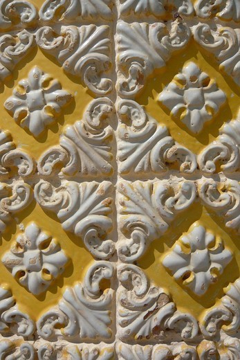 Stock Photo: 1597-138806 Portugal, Europe, art, skill, craft, art craft, tiles, mosaic, tiles, Azulejos