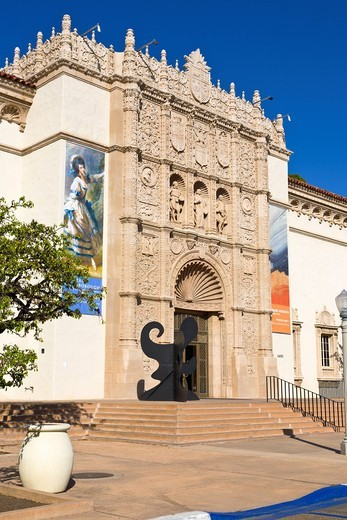 Museum of Art, Balboa Park, San Diego, California, USA : Stock Photo