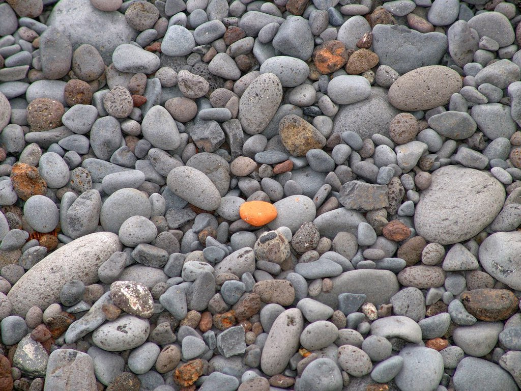 Stock Photo: 1597-146127 Europe, Portugal, Madeira, Funchal, gravel beach, detail, pattern, stone, beach, seashore, pebble