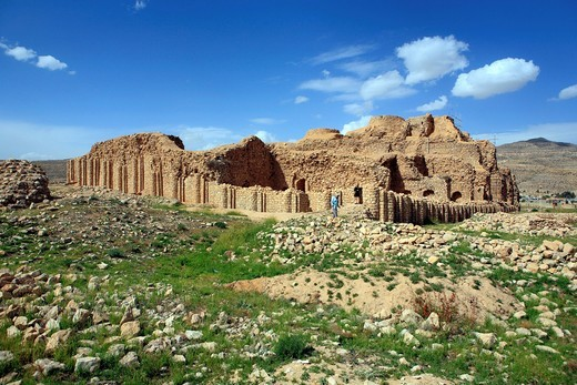 Stock Photo: 1597-149682 Iran, Iranian, Persia, Persian, Middle East, Middle Eastern, Western Asia, travel, travel, destinations, world locations, Architecture, building, Landscape, scenery, scenic, Palace, Sassanian, king Ardashir I, 3rd century, Firouzabad, Firuzabad, Fars prov. Iran, Iranian, Persia, Persian, Middle East, Middle Eastern, Western Asia, travel, travel, destinations, world locations, Architecture, building, Landscape, scenery, scenic, Palace, Sassanian, king Ardashir I, 3rd century, Firouzabad, Firuzaba