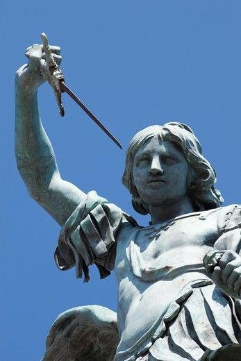 Europe, Italy, Rome, Castel Sant´Angelo, Castel S´Angelo, Saint Angelo Castle, Castle, Archangel Michael, Angel, Tourism, Holiday, Vacation : Stock Photo