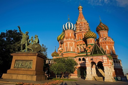 Stock Photo: 1597-152864 Europe, Russia, Moscow, Red Square, Cathedral of St Basil, Saint Basil´s, Saint Basil, St Basil´s Cathedral, Cathedrals, Cathedral, Landmarks, Landmark, Architecture, Churches, Church, Sixteenth Century, Kremlin, Travels, Travel, World travel, World locat. Europe, Russia, Moscow, Red Square, Cathedral of St Basil, Saint Basil´s, Saint Basil, St Basil´s Cathedral, Cathedrals, Cathedral, Landmarks, Landmark, Architecture, Churches, Church, Sixteenth Century, Kremlin, Travels, Travel, World travel,