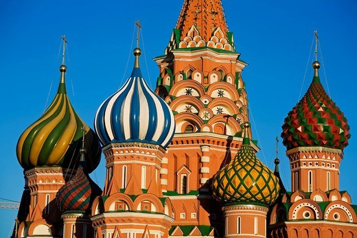 Stock Photo: 1597-155057 Europe, Russia, Moscow, Red Square, Cathedral of St Basil, Saint Basil´s, Saint Basil, St Basil´s Cathedral, Cathedrals, Cathedral, Landmarks, Landmark, Architecture, Churches, Church, Sixteenth Century, Kremlin, Travels, Travel, World travel, World locat. Europe, Russia, Moscow, Red Square, Cathedral of St Basil, Saint Basil´s, Saint Basil, St Basil´s Cathedral, Cathedrals, Cathedral, Landmarks, Landmark, Architecture, Churches, Church, Sixteenth Century, Kremlin, Travels, Travel, World travel,
