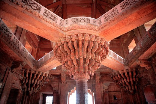 Asia, Asian, India, Indian, South Asia, South Asian, Subcontinent, architecture, building, cultural, culture, tourist attraction, traditional, travel, destinations, world locations, city, town, Akbar´s palace, Akbar, 1570s, 16th century, UNESCO, World Her. Asia, Asian, India, Indian, South Asia, South Asian, Subcontinent, architecture, building, cultural, culture, tourist attraction, traditional, travel, destinations, world locations, city, town, Akbar´s palace, Akbar, 1570s, 16th century, UNESC : Stock Photo