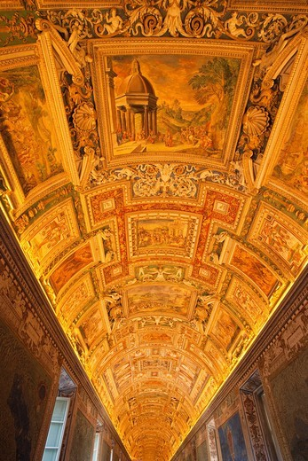 Europe, Italy, Rome, Vatican, Vatican Museum, Interior, Tourism, Holiday, Vacation : Stock Photo