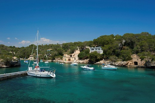 Stock Photo: 1597-159586 Majorca, Mallorca, Balearic Islands, island, isle, islands, isles, Spain, Europe, Spanish, Europe, European, outdoors, Outside, day, nobody, Cala Figuera, fishing harbour, fishing harbours, harbour, port, harbours, ports, fishing boat, fishing boats, boat. Majorca, Mallorca, Balearic Islands, island, isle, islands, isles, Spain, Europe, Spanish, Europe, European, outdoors, Outside, day, nobody, Cala Figuera, fishing harbour, fishing harbours, harbour, port, harbours, ports, fishing boat, fishing
