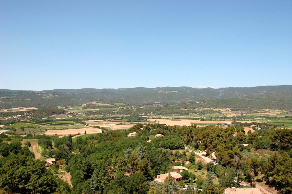 Stock Photo: 1597-162053 France, Europe, Luberon, Provence, Roussillon, village, ocher, color