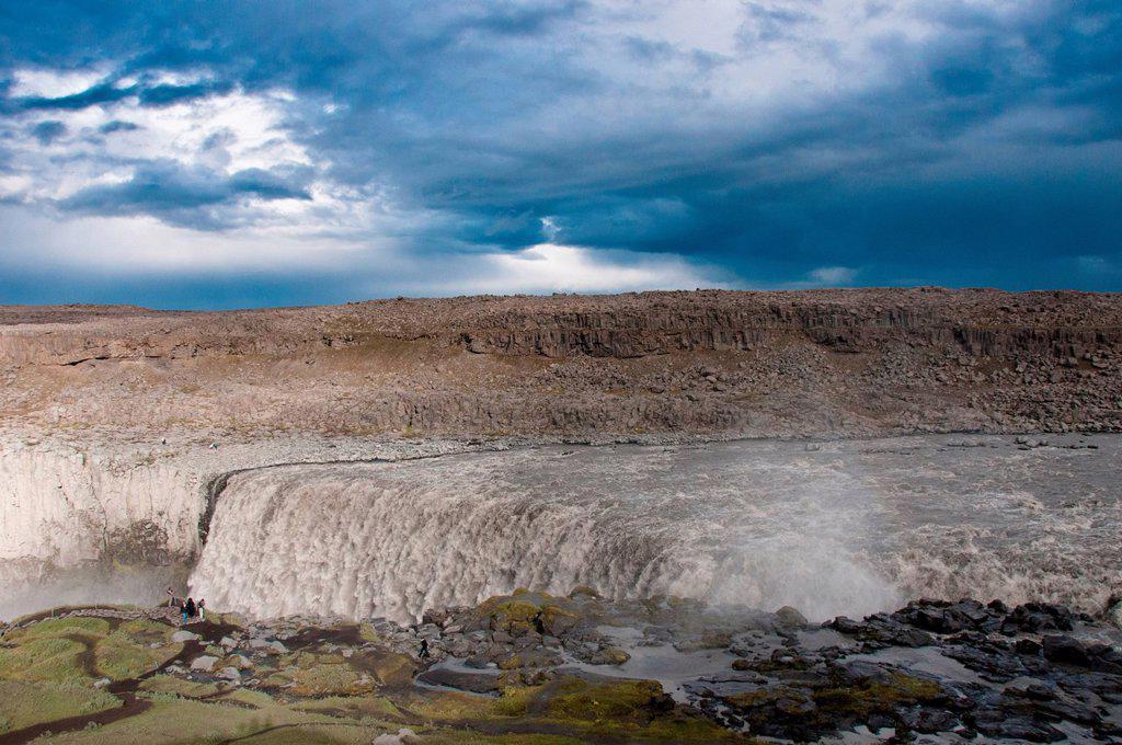 Stock Photo: 1597-165502 Dettifoss, Iceland, Europe, waterfall, water, nature