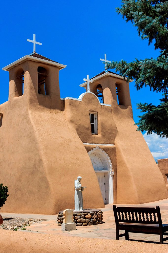 Stock Photo: 1597-168242 San Francisco de Asis, Mission, Church, Ranchos de Taos,