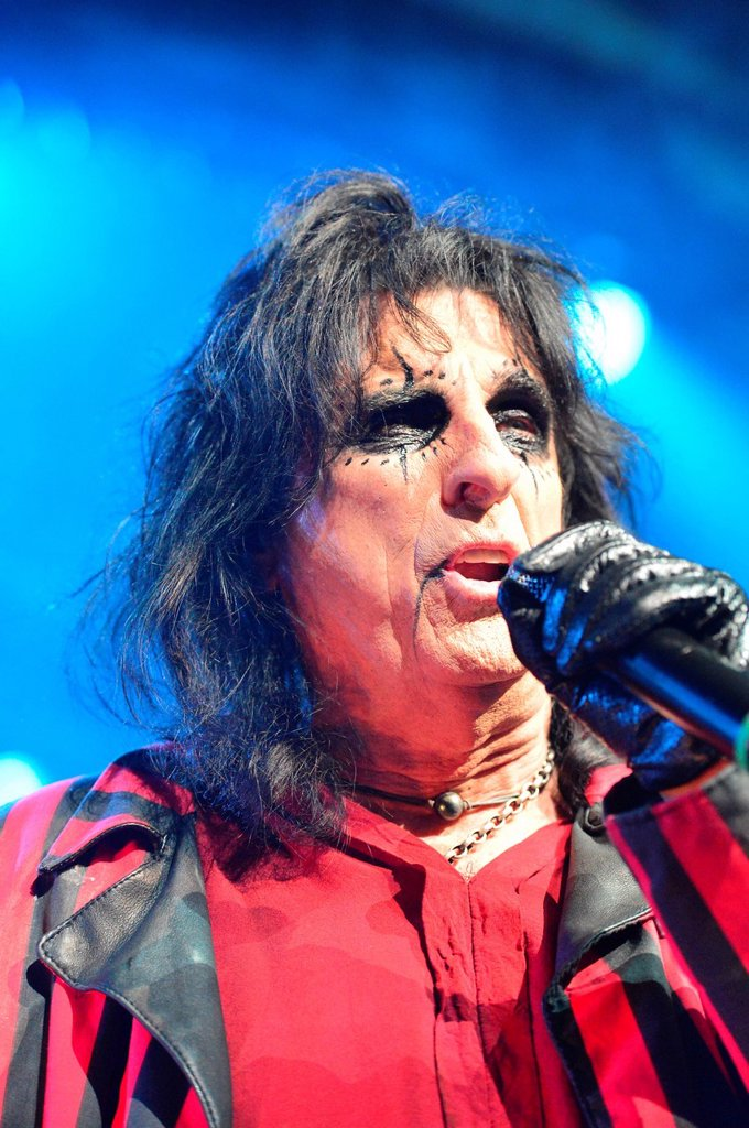 Stock Photo: 1597-171341 Alice Cooper, Cooper, rocker, shock rocker, no model release, music, pop, rock, Switzerland, singer, Basel, AVO, session, 2012,