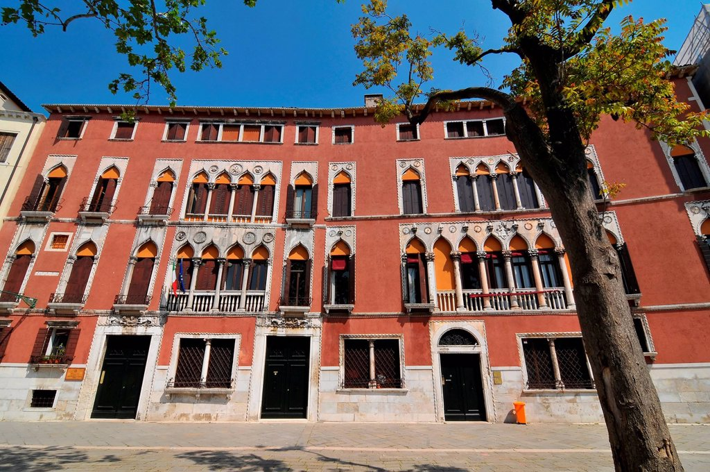 the famous Palazzo Soranzo in Venice, home of the Soranzo family including one of the doges. : Stock Photo