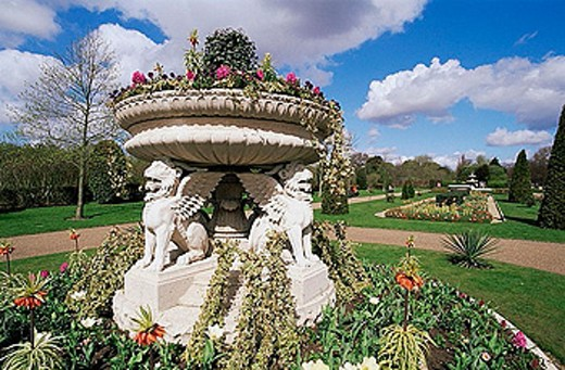 Stock Photo: 1597-27112 UK, United Kingdom, Great Britain, Europe, Britain, England, Europe, London, Regents Park, Spring, Spring Flowers, Flo