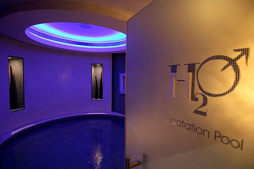 H2O male spa, wellness, moulder, design, light, light design, bath, tourism, bathing, holidays, vacation, Jumeirah emi : Stock Photo