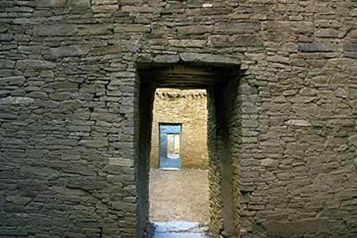 Stock Photo: 1597-33431 USA, America, United States, North America, New Mexico, Chaco Culture, National Historical Park, Ancient ruins, UNESCO