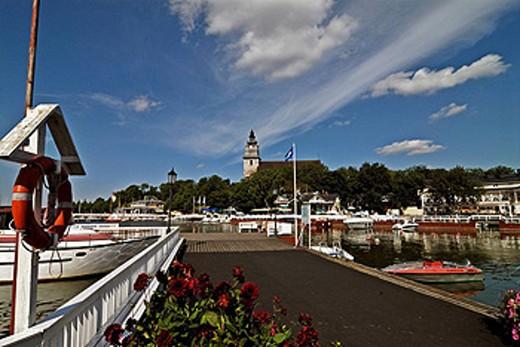 Stock Photo: 1597-38295 Finland, Europe, Naantali, Suomi, Scandinavia, Scandinavian, town, city, place, timber houses, Idyllic, idyls, idyl, h