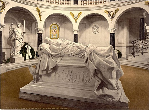 Frederick Mausoleum, Potsdam, Germany, Europe, Photochrom, about 1900, German Empire, history, historical, historic, e : Stock Photo