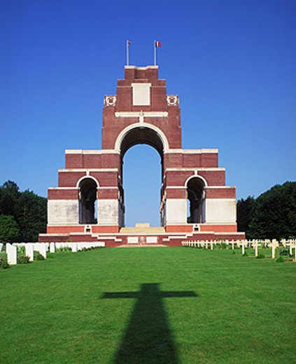 Thiepval Memorial, Somme, Picardy, France : Stock Photo