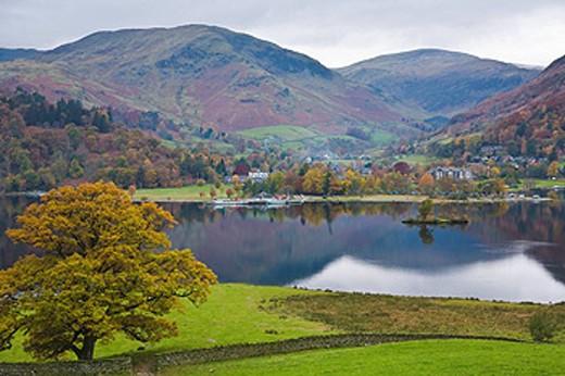 Glenridding, Ullswater, Lake District, Cumbria, England : Stock Photo