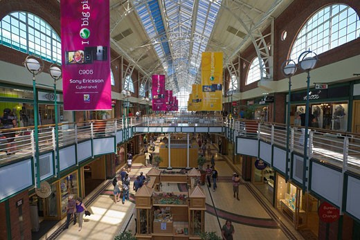 Stock Photo: 1597-60966 Interior of Victoria Wharf, Cape Town, Western Cape, South Africa