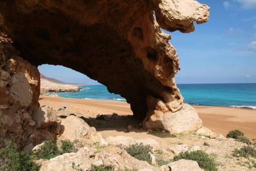 Yemen, Socotra island, Rosh, Arabic, Arabian, Arab, travel, UNESCO, world natural heritage site, Landscape, scenery, n : Stock Photo