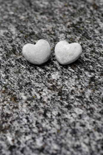 Heart, symbol, love, hearts, stones, riverbed, Verzasca river, Canton Ticino, Switzerland, Europe, rock, rocks, detail : Stock Photo