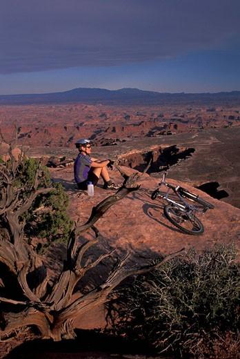 Stock Photo: 1597-67530  Usa, Moab, Utah, Canyonlands National Pa