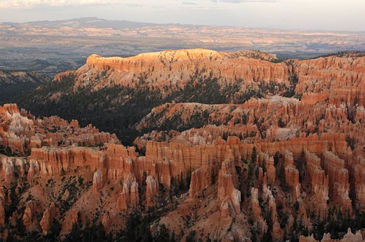 Stock Photo: 1597-68086  Usa, Utah, Inspiration Point, Bryce Cany