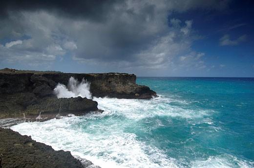 Stock Photo: 1597-68177  Caribbean, Barbados, At The Cave, North