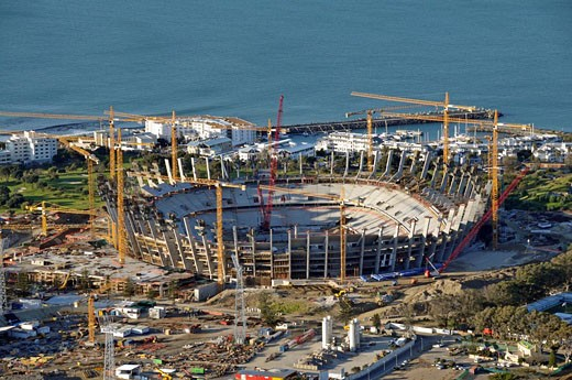 Stock Photo: 1597-69248  Cape Town, African Renaissance Stadium,