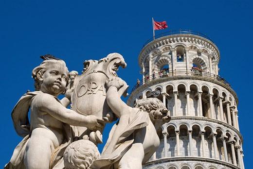 Pisa city, Europe, Italy, Tuscany, leani : Stock Photo