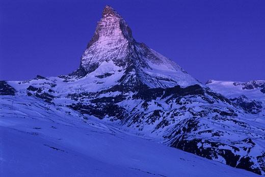 Europe, Switzerland, Canton of Valais, V : Stock Photo