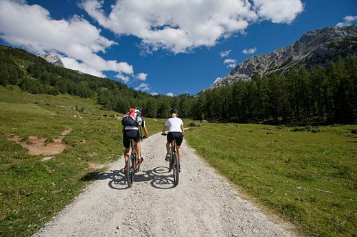 Bike, Austria, Filzmoos, Salzburg, summe : Stock Photo
