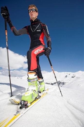 Stock Photo: 1597-70541  Ski, Skiing, Winter sports, Sport, Snow,
