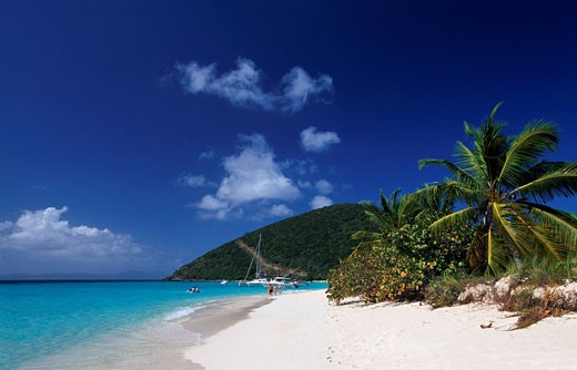 Stock Photo: 1597-71209  Caribbean, sea, ocean, Virgin Islands, B